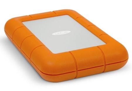 LaCie Rugged USB 3.0 Thunderbolt Series Portable Hard Drive