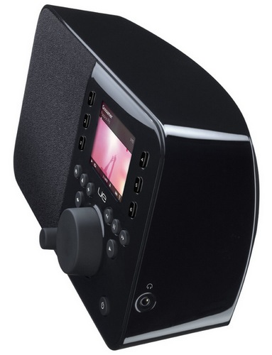 Logitech UE Smart Radio WiFi Music Player side