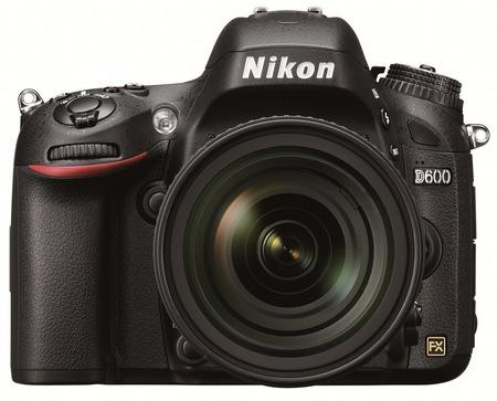 Nikon D600 Full-Frame DSLR Camera front