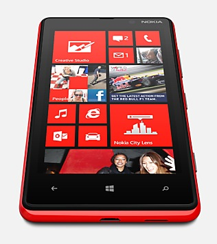 Nokia Lumia 820 Windows Phone 8 Smartphone bottom