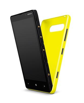Nokia Lumia 820 Windows Phone 8 Smartphone wireless charging shell