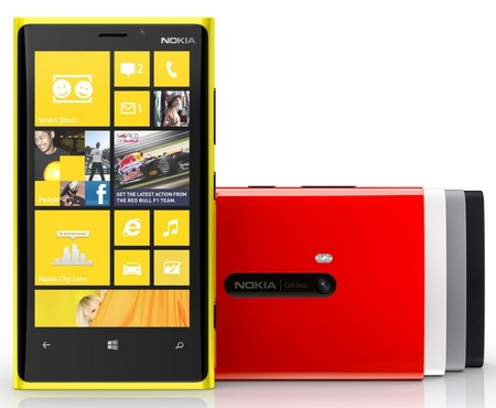 Nokia Lumia 920 Flagship Windows Phone 8 Smartphone colors