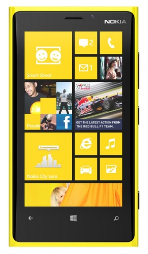 Nokia Lumia 920 Flagship Windows Phone 8 Smartphone yellow