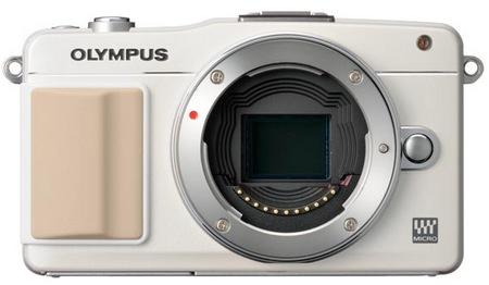Olympus PEN mini E-PM2 Micro Four Thirds Camera white no lens