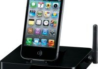 Onkyo DS-A5 AirPlay iPhone iPad Dock with iphone