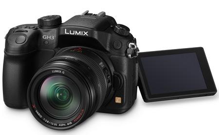 Panasonic LUMIX DMC-GH3 Micro Four Thirds Camera display rotating