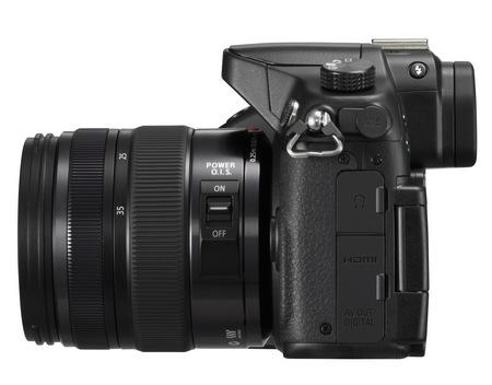 Panasonic LUMIX DMC-GH3 Micro Four Thirds Camera side