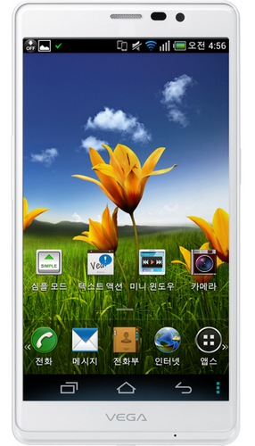 Pantech Vega R3 5.3-inch Android Phablet with SnapDragon S4 Pro front