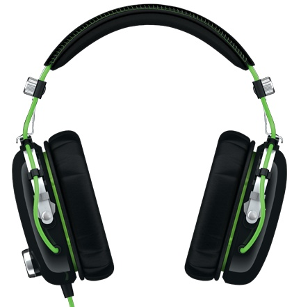 Razer BlackShark Gaming Headset front