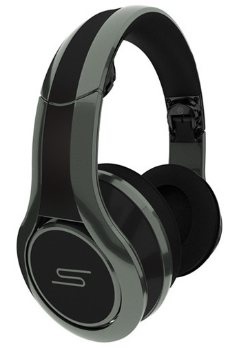 SMS Audio STREET by 50 wired DJ Pro Performance Headphones city grey 1