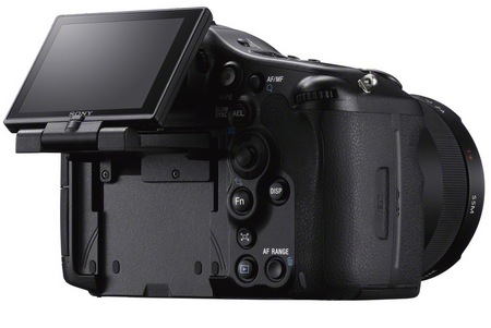Sony Alpha A99 Full-frame DSLR Camera back