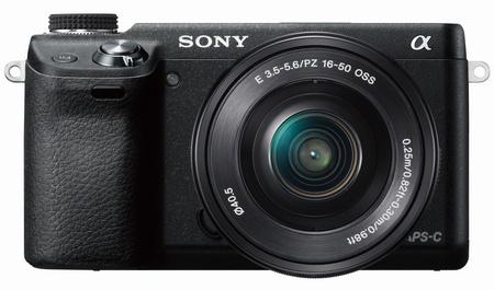 Sony Alpha NEX-6 Mirrorless Camera front