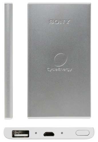 Sony CycleEnergy CP-F1LSVP, CP-F1LSAVP Slim Portable Battery