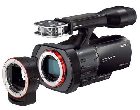 Sony Handycam NEX-VG900 Full Frame 35mm Camcorder wth LA-EA3 adapter