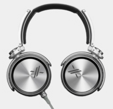 Sony X Headphones with Simon Cowell's Backing black 1