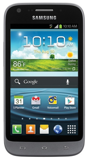 Sprint Samsung Galaxy Victory 4G LTE Affordable Smartphone front