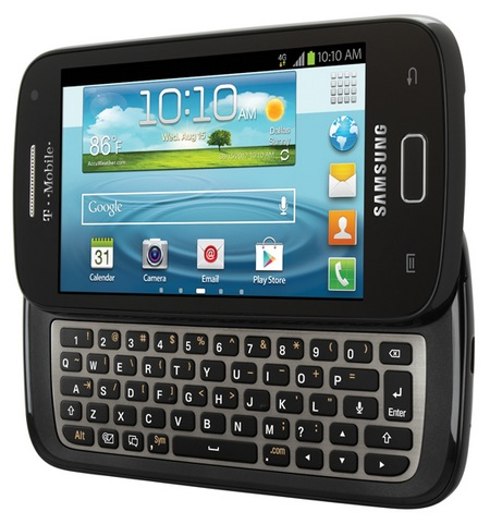 T-Mobile Samsung Galaxy S Relay 4G QWERTY Smartphone keyboard