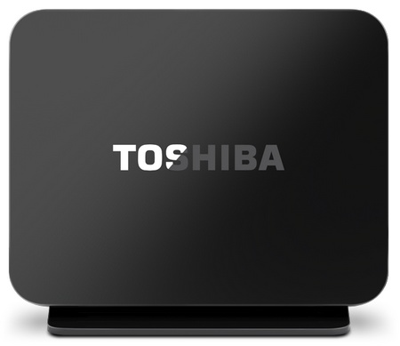 Toshiba Canvio Personal Cloud Network Attached Storage side