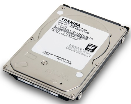 Toshiba MQ01ABDH Series Hybrid Drives combine SSD and HDD