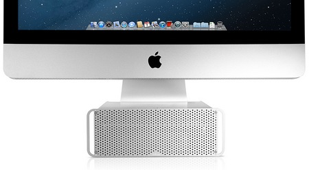Twelve South HiRise Adjustable Stand for iMac and Apple Display front