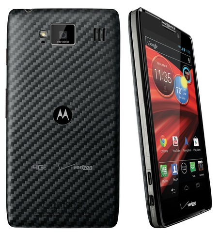 Verizon Motorola DROID RAZR MAXX HD with bigger battery back