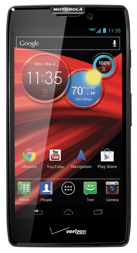 Verizon Motorola DROID RAZR MAXX HD with bigger battery