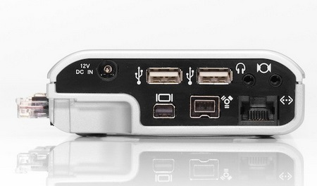 mLogic mDock Docking Station and Backup Drive for MacBook Pro ports