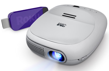 3M Streaming Projector with Roku Streaming Stick
