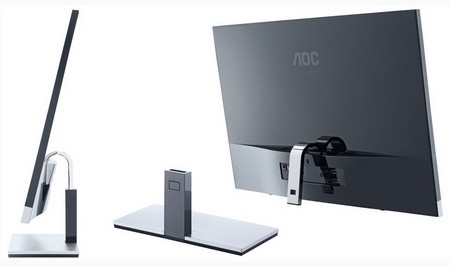 AOC myPlay i2757Fm 27-inch Full HD IPS Display stand