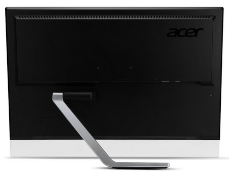 Acer T232HL and T272HL Touchscreen Monitors back