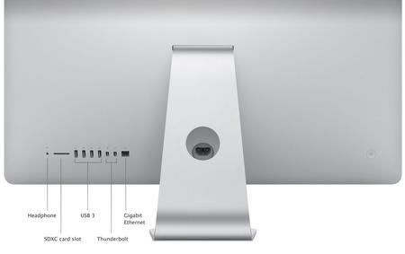 Apple iMac 2012 back