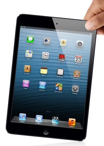 Apple iPad mini 7.9-inch Touchscreen, dual-core A5 lte 1080p video hand 2
