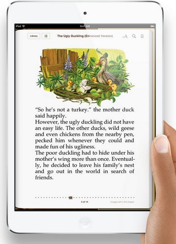 Apple iPad mini 7.9-inch Touchscreen, dual-core A5 lte 1080p video on hand