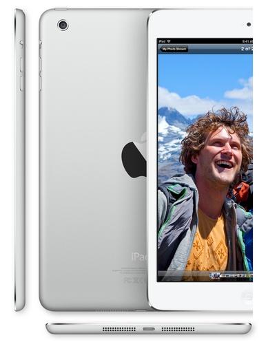 Apple iPad mini 7.9-inch Touchscreen, dual-core A5 lte 1080p video silver white