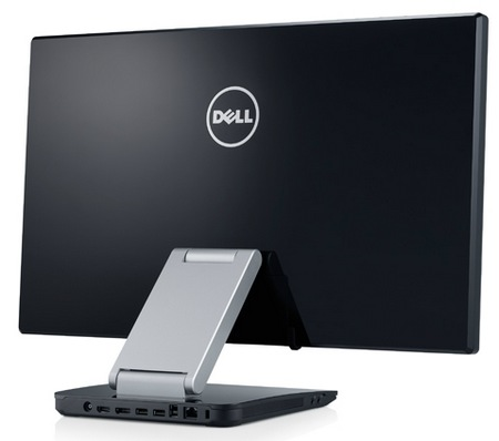 Dell S2340T Multitouch Display back