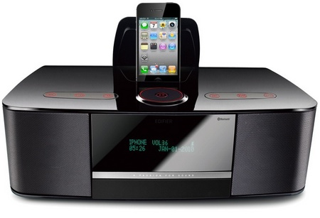 Edifier Esiena Bluetooth Speakers with iPhone ipod dock