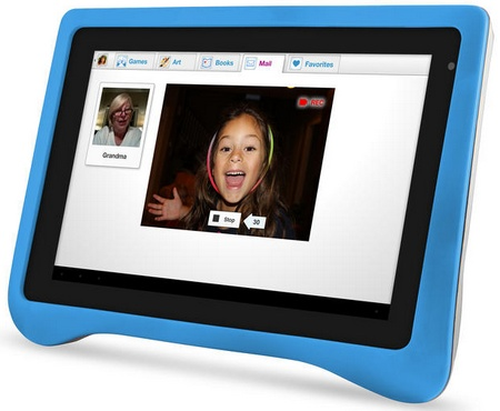 Ematic FunTab Pro Android 4.0 Tablet for Children blue