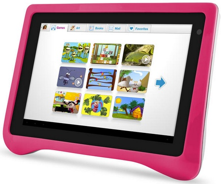 Ematic FunTab Pro Android 4.0 Tablet for Children pink