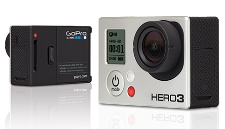 GoPro HERO3 White, Silver and Black Editions Action Cameras