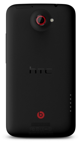 HTC One X+ Android 4.1 smartphone back