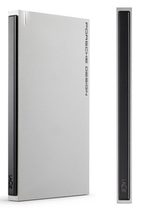 LaCie Porsche Design P'9223 Slim USB 3.0 Mobile Drive side