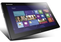 Lenovo IdeaTab Lynx Windows 8 Tablet with Optional Keyboard Dock angle