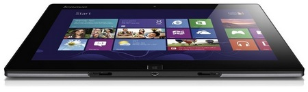 Lenovo IdeaTab Lynx Windows 8 Tablet with Optional Keyboard Dock bottom