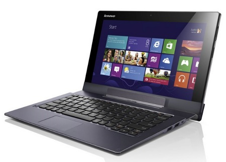 Lenovo IdeaTab Lynx Windows 8 Tablet with Optional Keyboard Dock docked