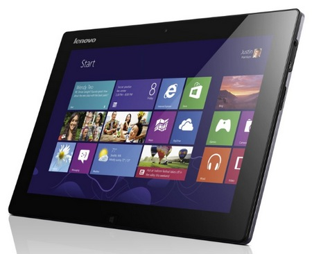 Lenovo IdeaTab Lynx Windows 8 Tablet with Optional Keyboard Dock