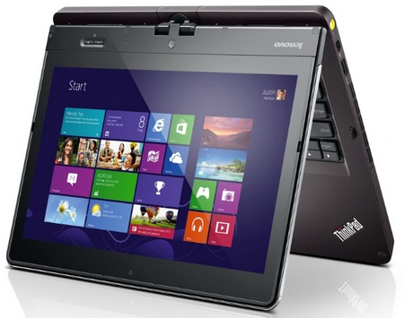 Lenovo ThinkPad Twist Windows 8 Convertible Ultrabook for Business 1