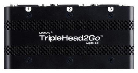 Matrox TripleHead2Go Digital SE Multi-monitor Adapter top