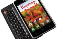 Sprint LG Mach Slim 4G LTE QWERTY Android Phone