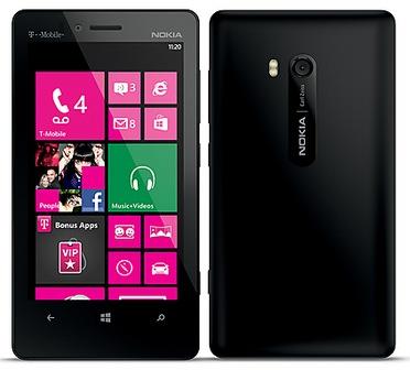 T-Mobile Nokia Lumia 810 Windows Phone 8 Smartphone back
