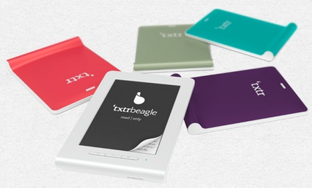 txtr Beagle is the world's smallest e-book reader colors